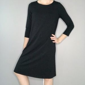 Eileen Fisher 3/4 Sleeve Trapeze Dress